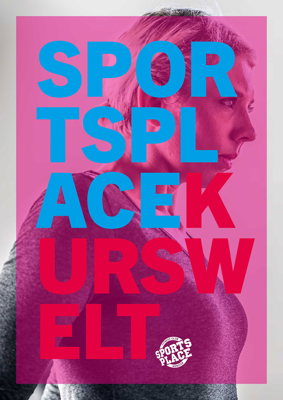Sports Place Münster, Fitness Studio – Kursbuch Titel